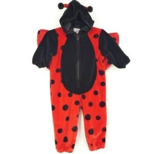 Miniwear Ladybug with Wings Hooded Costume (mm32)